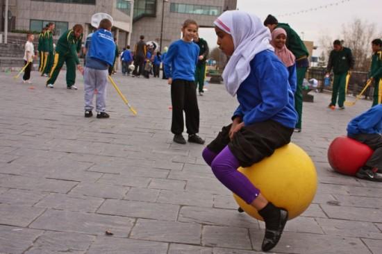 Safe Places to Play and Hang Out event at the Senedd / Digwyddiad Mannau Diogel i Chwarae a Chymdeithasu yn y Senedd