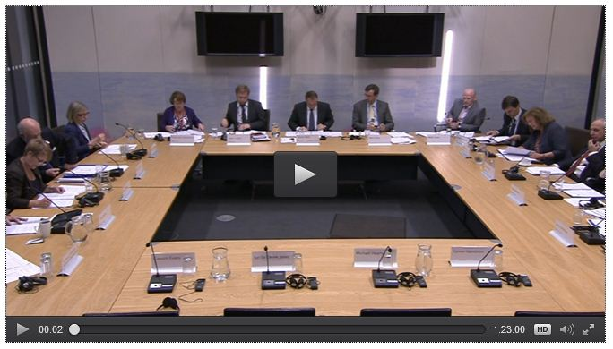 Public Accounts Committee – work for the Autumn Term2014