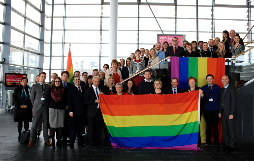 LGBT History Month Photocall