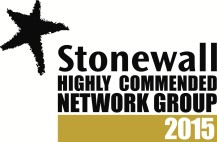 """Stonewall Cymru """"highly commended"""" group 2015"""