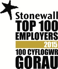 Stonewall top 100 employers 2015