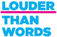 Logo for the Action on Hearing Loss Louder than Words charter mark