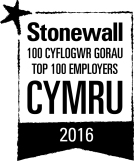 Logo for Stonewall's Top 100 Employers
