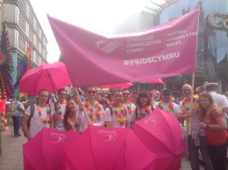 NAfW at Pride