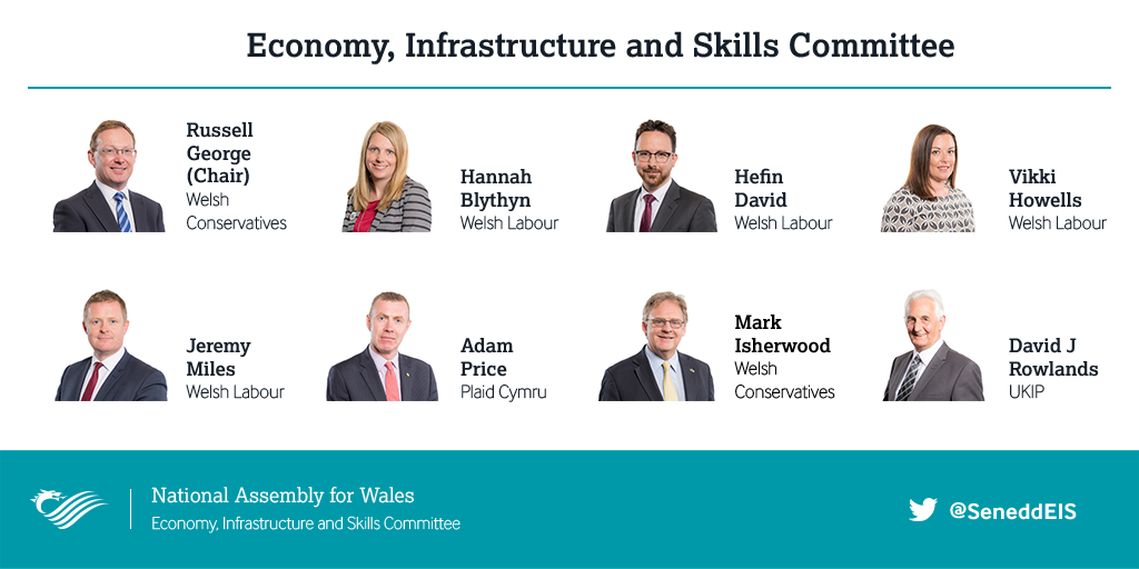 Members of the Economy, Infrastructure and Skills Committee