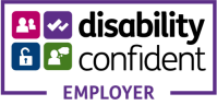 logo for the Disability Confident employer campaign