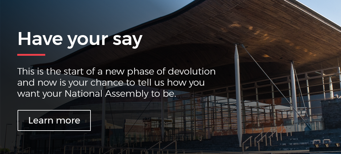 Future Senedd Consultation
