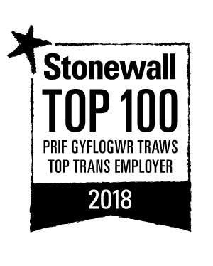 stonewall logo top trans employer