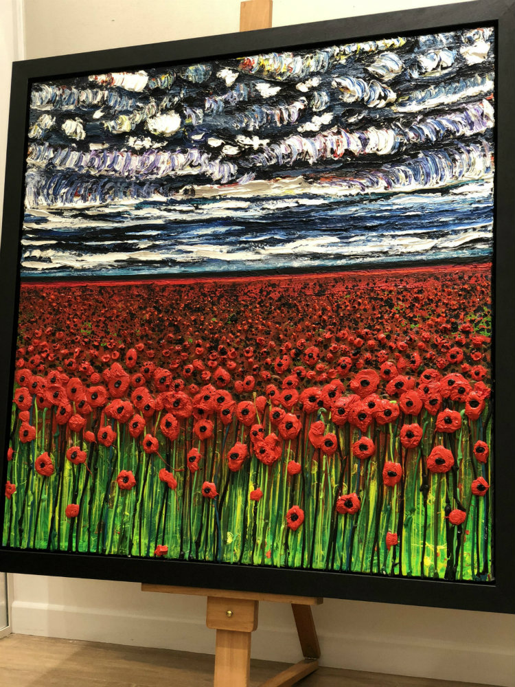 Painting by Scarlett Raven and Marc Marot: A Soldier's Own Diary